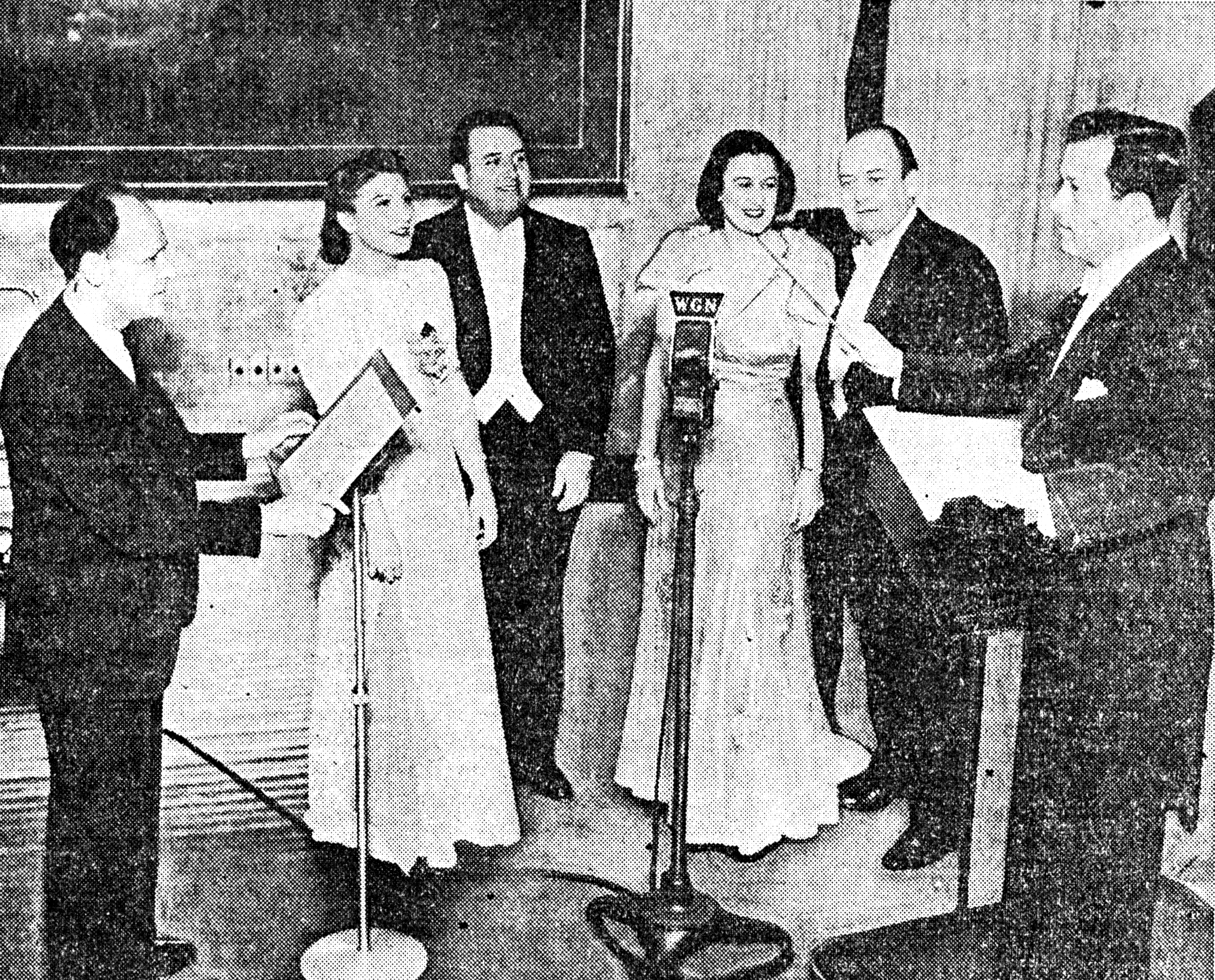 Margery Mayer singing 'Carmen'