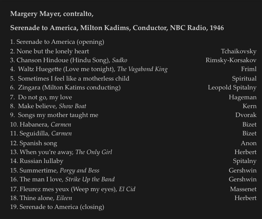 2 Radio Songs