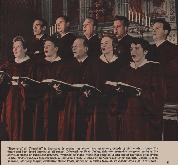 Hymns of All Churches General Mills Choir